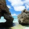 『幸せのハート岩』 池間島にある幻の岩!!