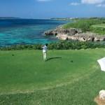 宮古島でエメラルドの海を眺めながらのリゾートゴルフ!!