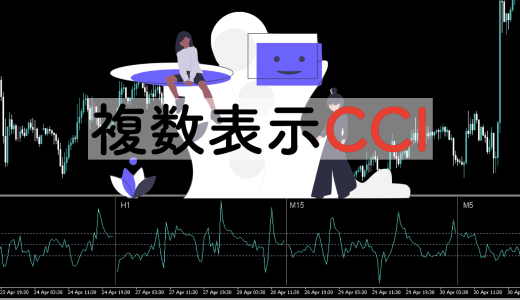 【MTF】複数時間足のCCIを同時表示するインジケーター