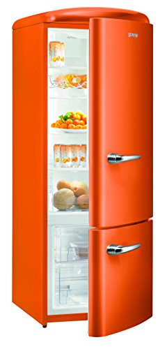 Good Perfect Awesome Gorenje Rk Oo A Hhe Cm Khlen L Juicy Orange Gefrieren  L Led Beleuchtung With Khl Gorenje Retro With Retro Khlschrank Gorenje With  Hhe ...