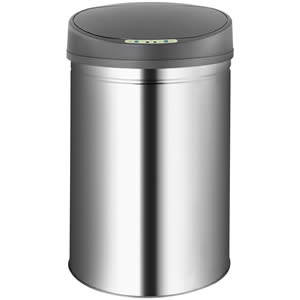 Jago Automatik Sensor Mülleimer Abfalleimer Mülleimer für die Küche aus Edelstahl