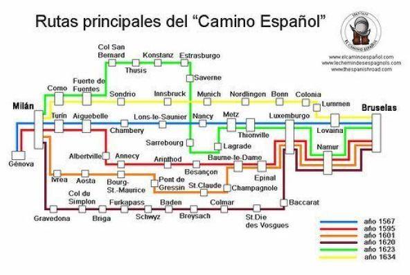 TSR_Rutas_Camino_Español