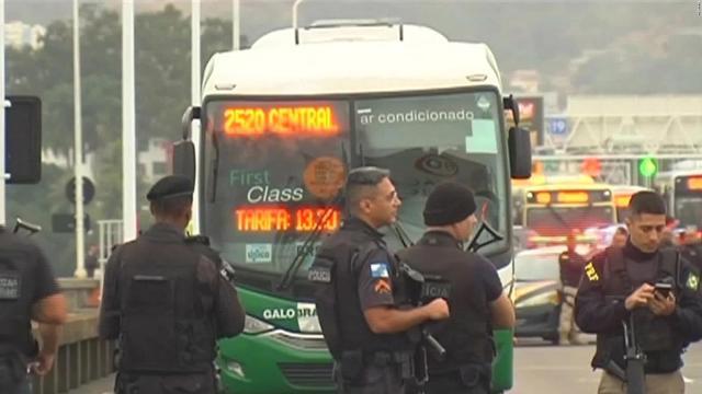Francotirador de la policía neutralizó a secuestrador en Brasil
