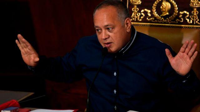 Diosdado Cabello niega que haya contactos secretos con el Gobierno de EE.UU.