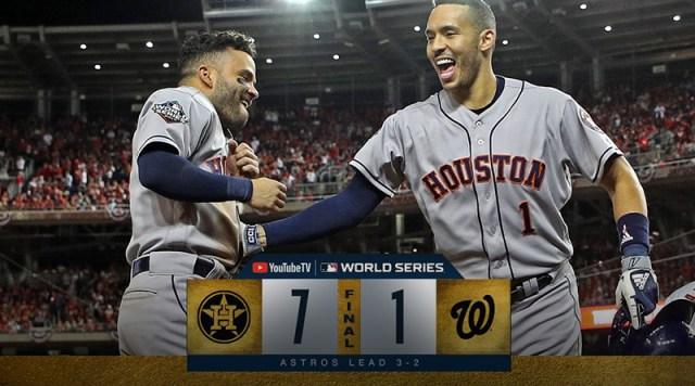 Cole volvió a ser Cole y los Astros toman ventaja