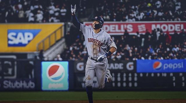 Correa, Springer y los Astros ponen en jaque a los Yankees