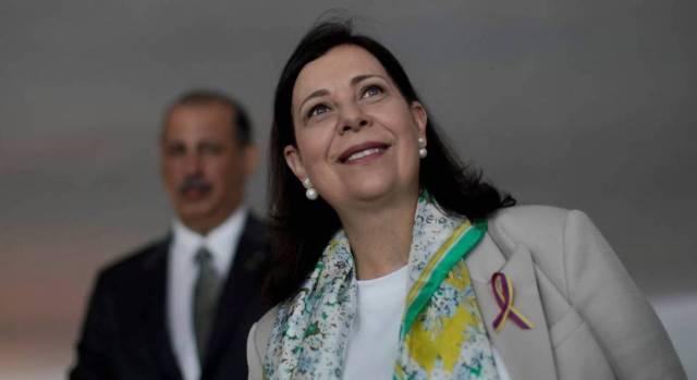 María Teresa Belandria: nos retiramos de la embajada venezolana en Brasilia