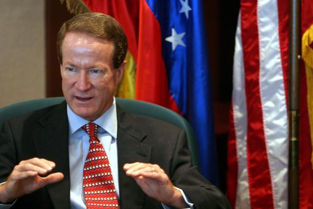 Venezuela es un narco-Estado con esteroides, asegura el embajador William Brownfield