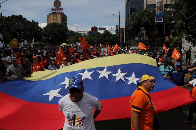En FOTOS: Los venezolanos volvieron a la calle para apoyar a Juan Guaidó #TodaVzlaDespierta