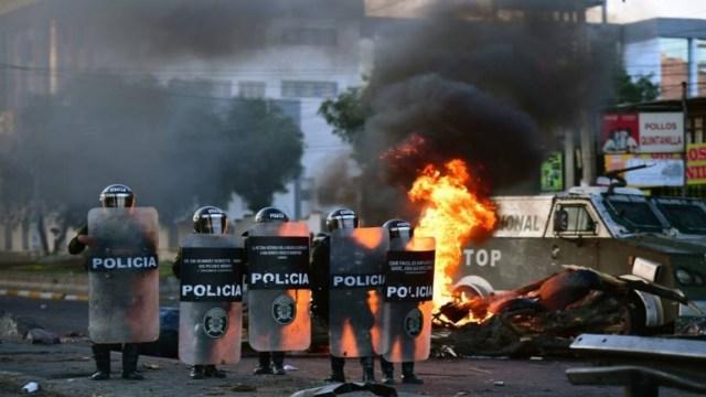 Tres muertos en manifestaciones en Colombia