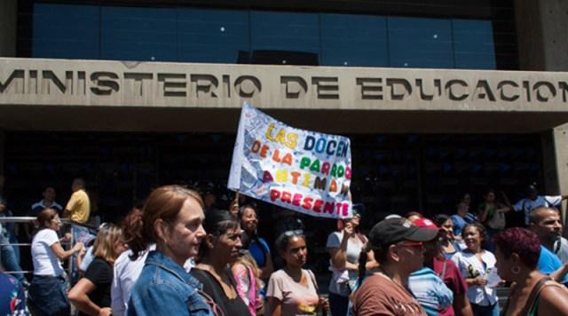 Ratifican nuevo paro educativo por 72 horas la próxima semana