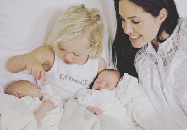 El increíble parecido entre Angelina Jolie y una de sus hijas que se volvió viral