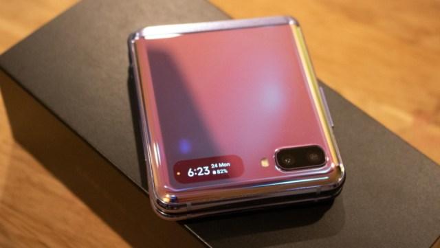 El Galaxy Z Flip es el mejor celular plegable