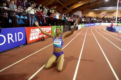 Yulimar Rojas se mantiene positiva a pesar de suspensión de las olimpiadas de Tokio-2020