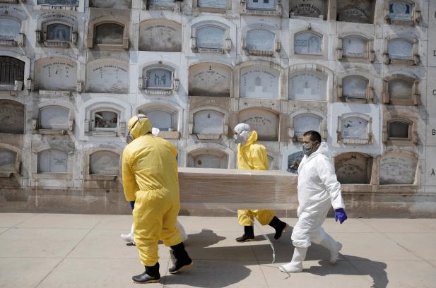 Coronavirus avanza peligrosamente en América Latina y Brasil registra récord de muertos