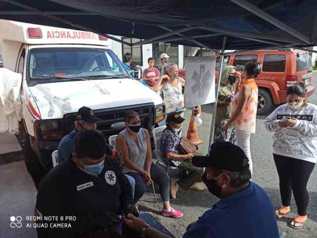 Operativos de atención médica primaria está llegando a todas las comunidades de Los Salias