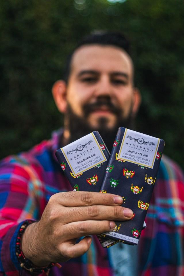 Un chocolate con un toque tequeño: Gabriel Balbas lanza tableta con queso de cabra madurado
