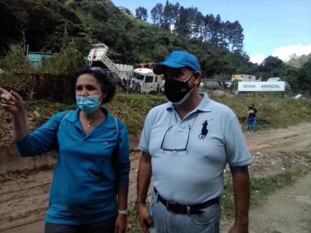 """Ivet Carrera: """"Vecinos de Montañalta exigen inmediato retiro del campamento de Servicarrizal de la zona"""""""