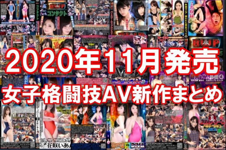2020年11月発売新作女子格闘技フェチAV作品情報まとめ記事