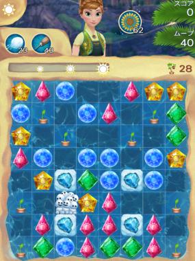 アナと雪の女王 Free Fall 無限 ステージ94 攻略のコツ