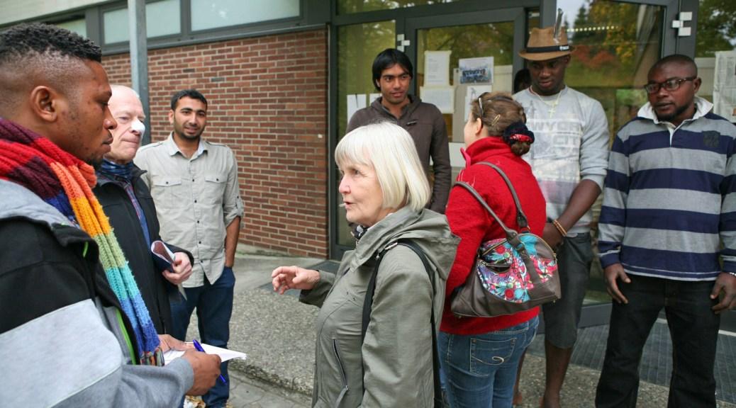 Ehrenamtliche kümmern sich in Lahr um die Flüchtlinge, dabei stehen ihnen die Beauftragten für Migration und Flucht bei. Titelfoto: Bastian Bernhardt