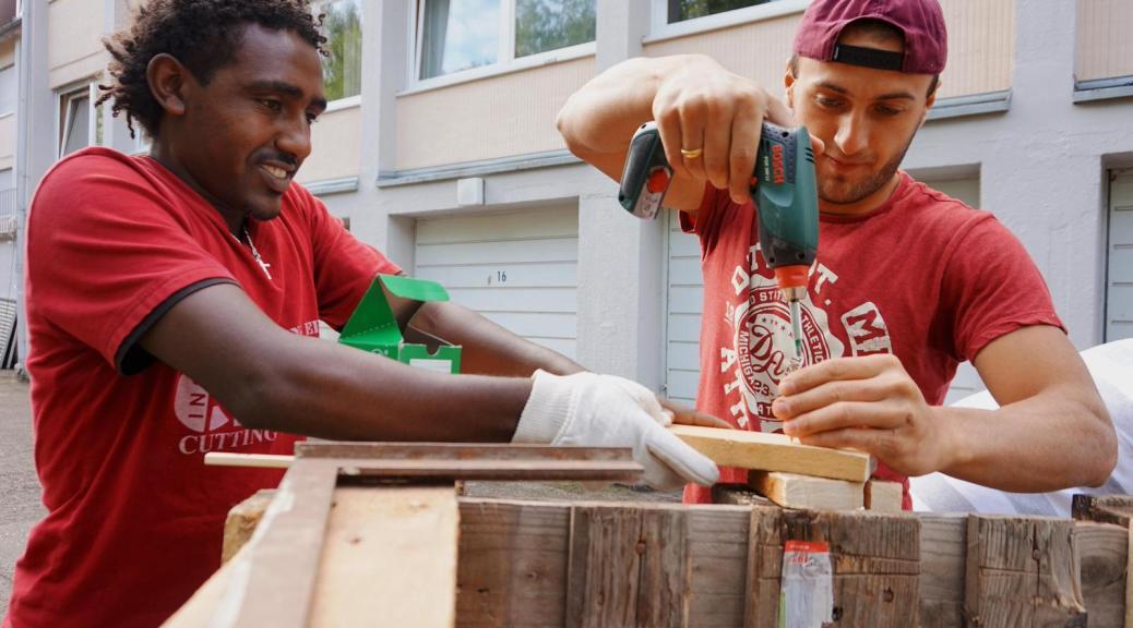 Viele Migranten finden einen Job