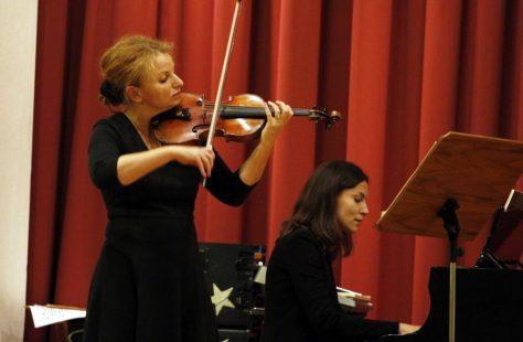 Lahr Musik verbindet Konzert Musikschule Saskia Mährlein und Natalia Movchan