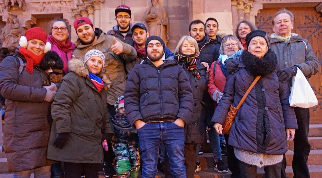 Besuch Auf Dem Weihnachtsmarkt.Besuch Auf Dem Weihnachtsmarkt Freundeskreis Flüchtlinge Lahr