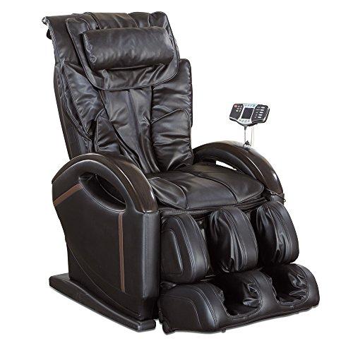 aktivshop Massagesessel Relaxsessel Entspannungssessel mit Shiatsu-Massage, Wärmefunktion, Aufstehhilfe (Schwarz)