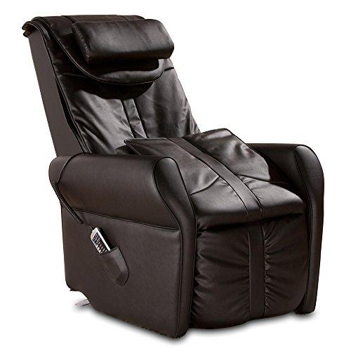 aktivshop Massagesessel Fernsehsessel mit Wärmefunktion, Aufstehhilfe, Shiatsu-Massage, Relaxsessel (Schwarz)