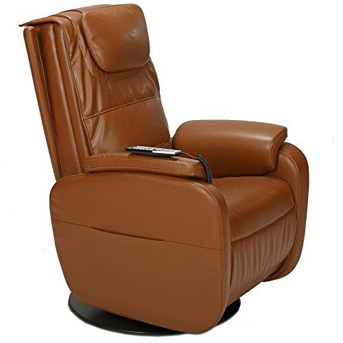 aktivshop Massagesessel Fernsehsessel TV-Sessel mit Wärmefunktion & Shiatsu-Massage (Hellbraun)