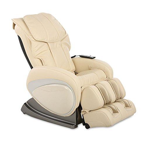 aktivshop Massagesessel, Shiatsu-, Klopf- u. Schwedische Massage, verstellbare Rückenlehne u. Beinstütze, 5 Geschwindigkeitsstufen, individuelle Massage durch Körperscan, max. Belastung 180 kg