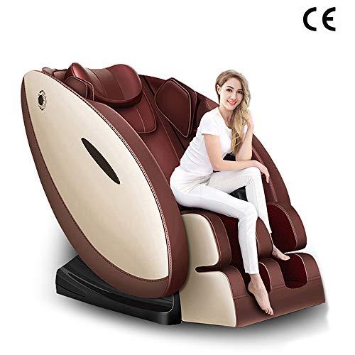 RDJM Massagesessel Mit Wärmefunktion - Massagestuhl - Rückenmassage, Beinmassage, Arm Massage Und Musiktherapie,A