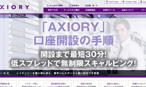 「AXIORY」 口座開設の手順