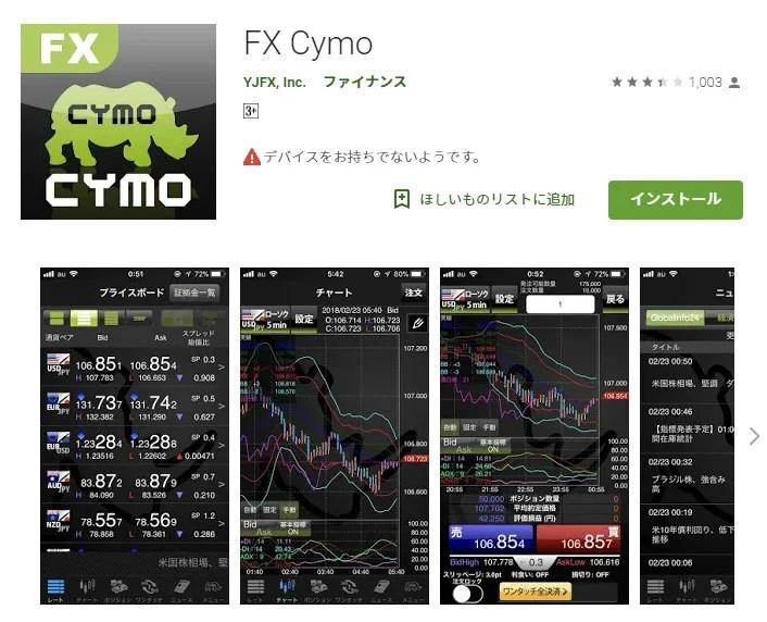 YJFX!「Cymo」