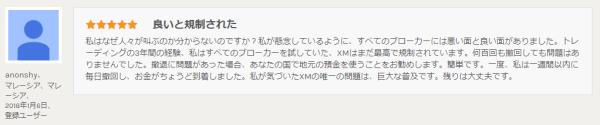 手順その4.検索した海外FX業者の口コミなどを翻訳してみる