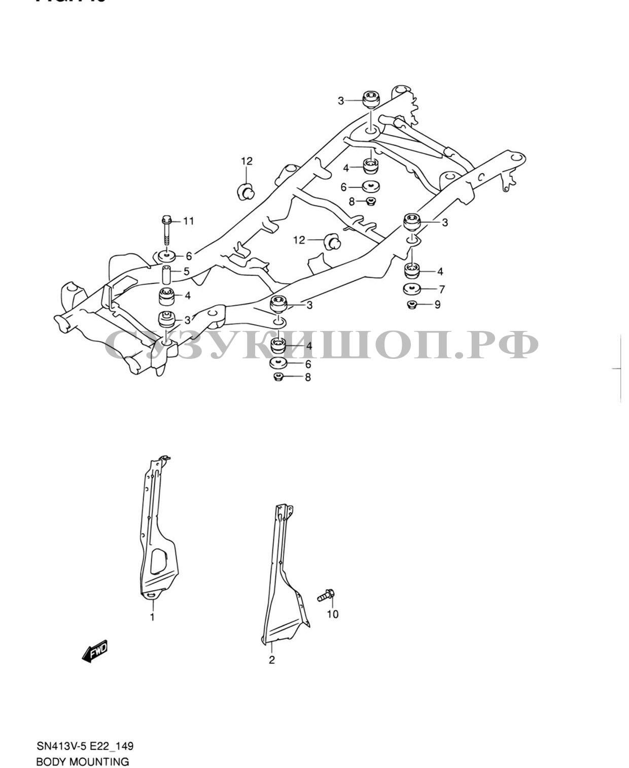 Suzuki Jimny Engine Coolant