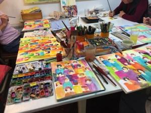 Workshop im Atelier