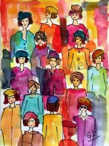 Frauen in der Stadt