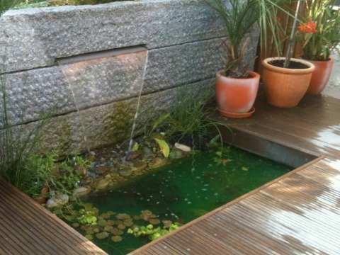 terrasse am teich holzterrassen, terrasse aus holz, terrassenideen- wohngärten
