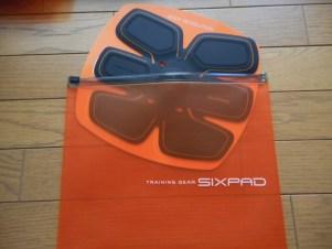 SIXPAD (シックスパッド)台紙
