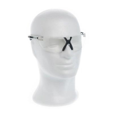 Uvex X-fit Schutzbrille Klar Weißer Bügel