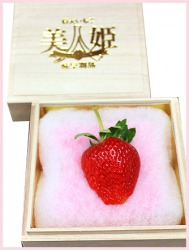美人姫(幻の苺) 1粒5万円