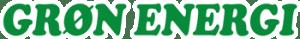 Grøn energi logo