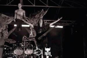 Héitor Amenaza en el Hell Sweet Hell (Oporto), con Amenaza De Muerte