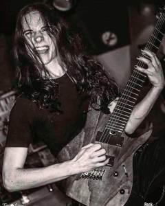 Héitor Amenaza en el concierto presentación del nuevos disco de Amenaza De Muerte, False Prophets