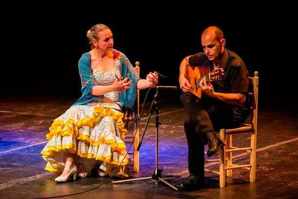 David Leiva guitarrista flamenco
