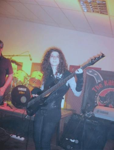 Patricia en el festival Live in Cances con Versión Imposible (2010)