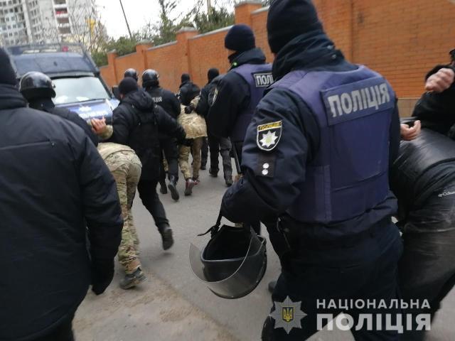 19 задержанных и 1 пострадавший: на митингующих на Гагаринском плато напали неизвестные. Видео