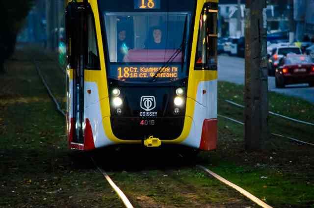 Одесситы пока не смогут оценить преимущество скоростного трамвая «Север-Юг»